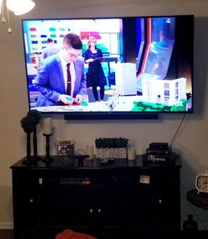 Black TV stand for Sale in Hanford, CA