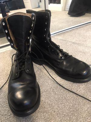 Vietnam War Military Boots~Biltrite~Size 10 R Vintage~Classic for Sale in Mesa, AZ