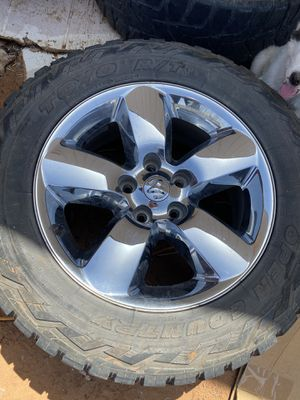 """2016 ram 1500 tires 33"""" for Sale in Midland, TX"""