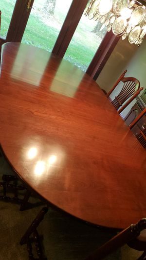 Beautiful cherry dining Room table 12' for Sale in Canton, OH