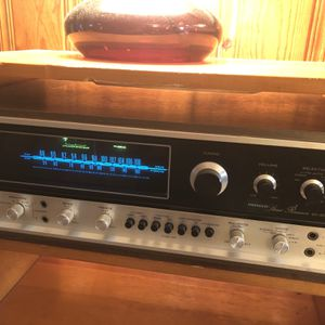 Vintage Sx-6000 Pioneer Stereo Receiver for Sale in Virginia Beach, VA