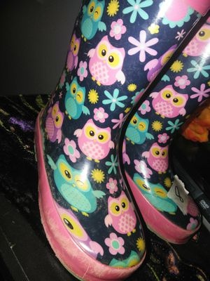 """Girls rain boots"""" for Sale in Fairview, OR"""
