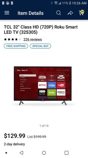 32 inch Smart Tv for sale Perfect condition for Sale in Washington, DC