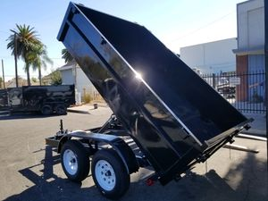 8x10x2 Dump Trailer BUY FACTORY DIRECT for Sale in La Mesa, CA