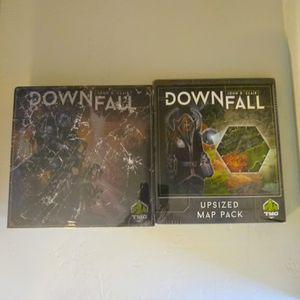 Downfall Board Game AND Upsized Map Pack TMG Deluxified Kickstarter for Sale in Missoula, MT