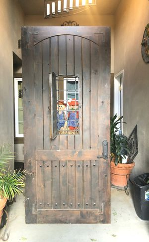 """Solid door 3'6""""x8'. Use but good conditions. $200 for Sale in Palmdale, CA"""
