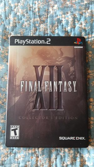 Final fantasy 12 collectors edition ps2 for Sale in Coventry, RI