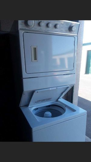 Stackable washer and gas dryer whirlpool everything works 27x72 for Sale in Corona, CA