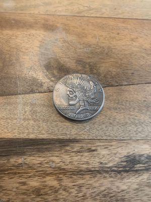 Skull Silver Morgan Dollar Peace Dollar for Sale in Monroe, LA