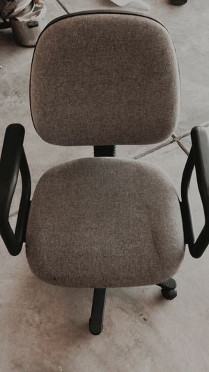 Grey office chair for Sale in Galloway, OH