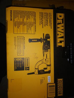 SDS PLUS ROTARY HAMMER KIT for Sale in Federal Way, WA