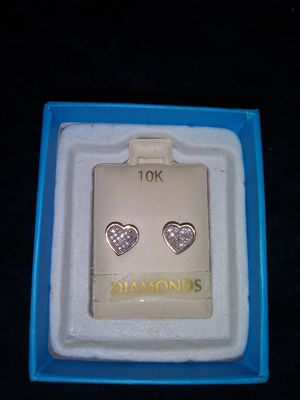 Real diamond earrings for Sale in Florissant, MO