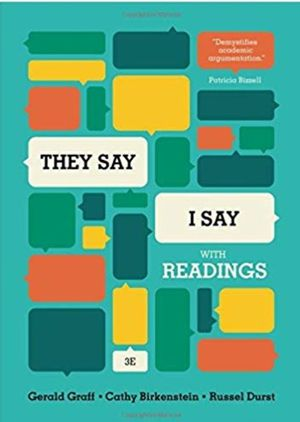 They Say I Say [pdf/eBook] - $4 for Sale in Anaheim, CA