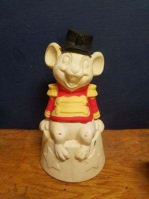 Vintage Timothy Q Mouse Ceramic Figurine Disney Dumbo for Sale in Marble Falls, TX