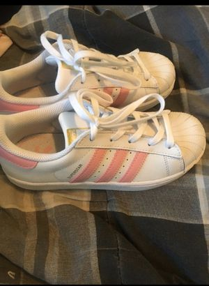 Brand new big kid size 1 Adidas for Sale in Las Vegas, NV