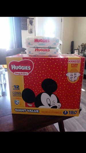 Huggies Snug & Dry Size 3!!READ THE ADDDDD❤👶❤ for Sale in Carson, CA