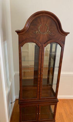 Decorative , lighted Curio Cabinet for Sale in Burlington, NC