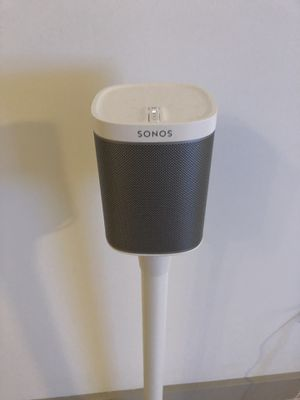 Sonos Play 1 (pair of two, price shown for one), comes with the stand for Sale in Miami, FL