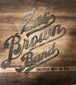 Zac Brown Band Greatest Hits so Far Vinyl for Sale in Eau Claire, WI
