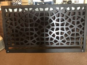 Black headboard for Sale in Montezuma, CO