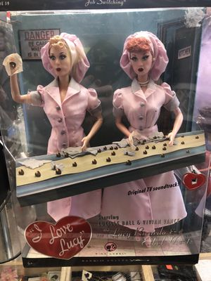 I Love Lucy Collectable Barbie Dolls for Sale in North Bend, WA
