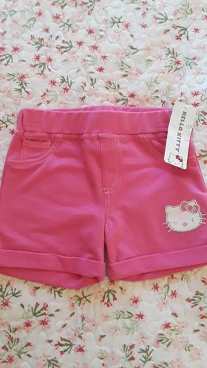 Size 6 hello kitty shorts new/$5 for Sale in Las Vegas, NV