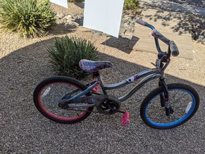 monster high BMX style bike silver pink 16 inches bicycle for Sale in Phoenix, AZ