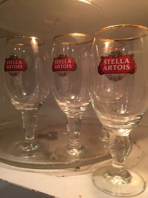 Collection Stella Artois glasses for Sale in Miami, FL