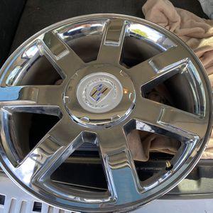 22in Wheels Cadillac Escalade for Sale in Renton, WA