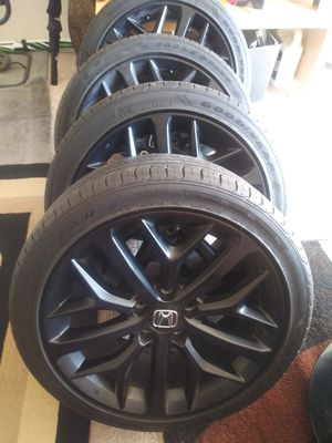 VENDO RINES PARA NONDAS ZAIZ 18. 5X114.3. ESTAN COMO NUEVOS for Sale in UNIVERSITY PA, MD