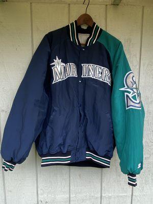 Vintage XL Mariners starter jacket for Sale in Lynnwood, WA