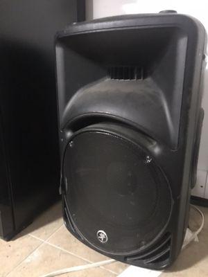 "Mackie SRM 450 15"" speaker for Sale in Brooklyn, NY"