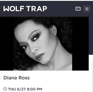 Diana Ross Concert Box Seats $50 each for Sale in Washington, DC