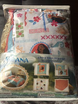 Moana Toddler bedding for Sale in Saginaw, TX