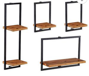 4 pack of Wall Shelves for Sale in Katy, TX