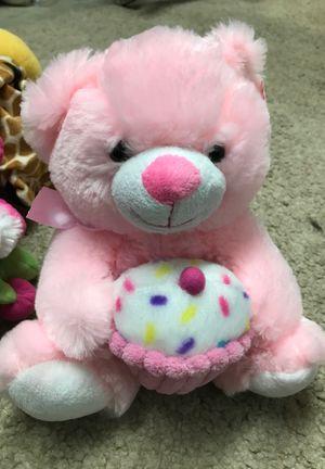 Birthday bear stuffed animal$6.00 for Sale in Menifee, CA