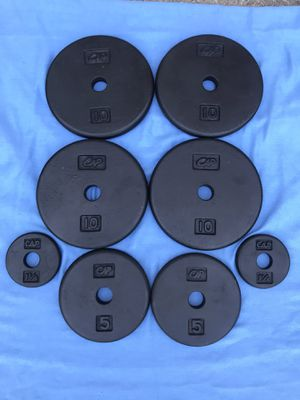 Weight Plates 55 lbs for Sale in Johns Creek, GA