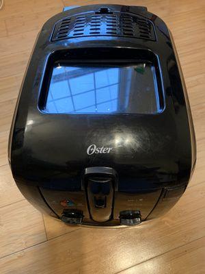Oster CKSTDFZM55 3-Liter Cool Touch Deep Fryer, Black for Sale in Renton, WA
