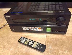 Onkyo HDMI 5.1 Network AV Receiver 80 x5! for Sale in Miami, FL