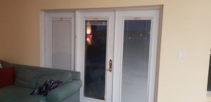 French door 3 panel blinds incorporated for Sale in Golden Oak, FL