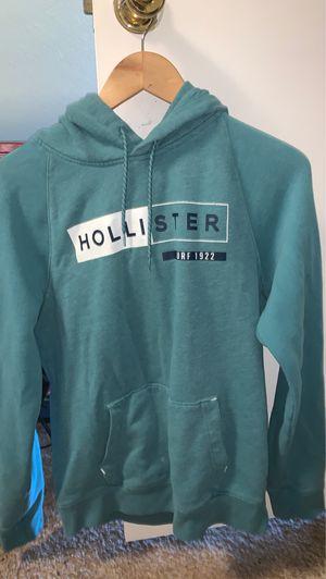 Medium teal hollister hoodie for Sale in Bellingham, WA