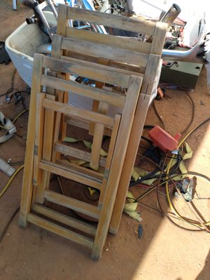 Chairs tools shelving swing frame for Sale in Odessa, TX