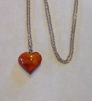 NEW AMBER NECKLACE for Sale in Forty Fort, PA