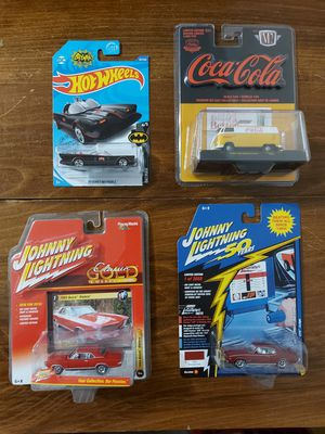 Rare Lot of 4 Collectible Car Models for Sale in Arlington, TX