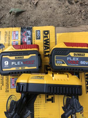 Brand new batteries and charger for Sale in Greenville, SC