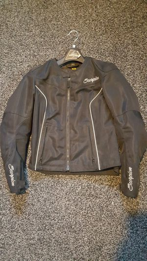 Womens Scorpion armored motorcycle jacket Sz Med for Sale in CANAL WNCHSTR, OH
