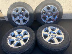 "(4) 17"" Jeep Wheels 245/65R17 Firestone tires - $150 for Sale in Santa Ana, CA"