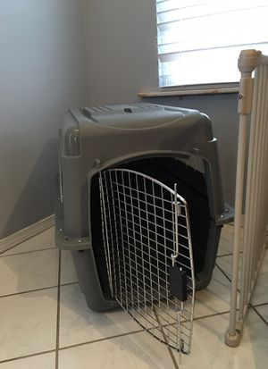 2 - dog kennels. 1- med 1- intermediate for Sale in Des Peres, MO