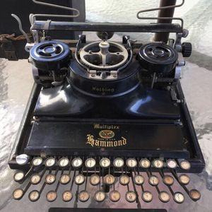 Antique Hammond Multiplex Folding Type Writer for Sale in Santa Ana, CA