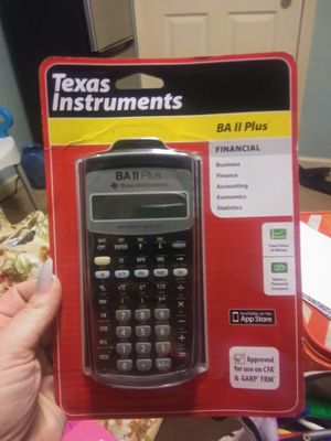 Texas Instruments BA 2 Plus Financial Calculator for Sale in Brandon, MS
